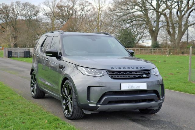 2019 Landrover Discovery Commercial