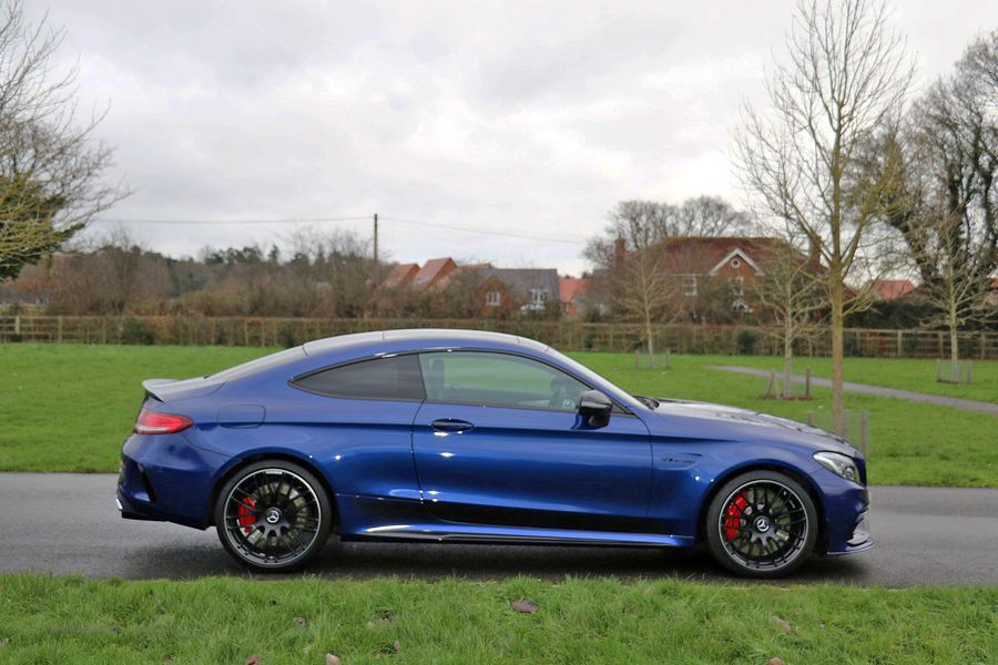 Mercedes C63S Coupe Edition 1